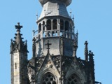 Beklim de toren tijdens een familiereünie