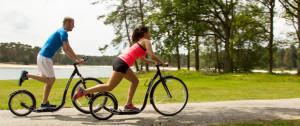 Steppen in plaats van hardlopen